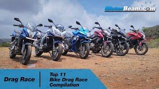 getlinkyoutube.com-Top 11 Bike Drag Races In India | MotorBeam