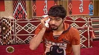 getlinkyoutube.com-مقلب - رشة عبدالكريم الحربي على معاذ الجماز وهو نايم | #زد_رصيدك4