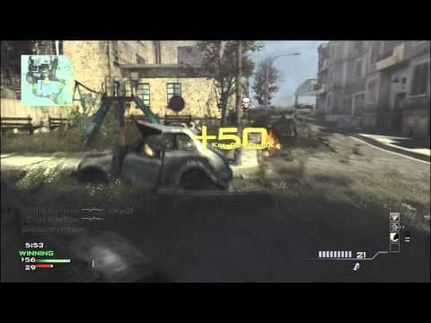 MW3 SHOTGUN GAMEPLAY (Modern Warfare 3)