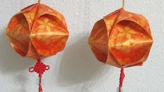 CNY TUTORIAL NO. 8 - Chinese New Year Red Packet (Hongbao) Lantern