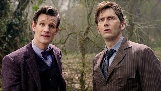 getlinkyoutube.com-Eleventh Doctor Meets The Tenth Doctor - Doctor Who - The Day of the Doctor - BBC
