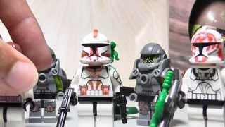 getlinkyoutube.com-Lego Custom Clone: Serpent Squad Troop