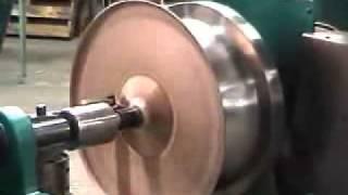getlinkyoutube.com-Abba Industries, Inc. - Copper Metal Spinning Demonstration
