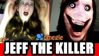 getlinkyoutube.com-Jeff the Killer Scares Omegle Video Chatters!