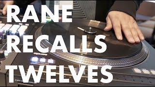 Rane Recalls Its Twelve Turntables width=