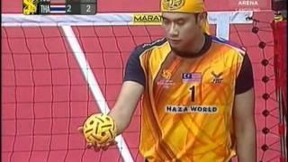 getlinkyoutube.com-Istaf  Sepaktakraw World cup 2011 / Malaysia Vs Thailand Final