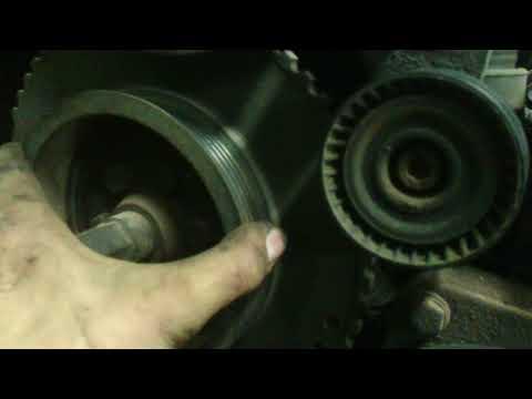 BMW E34 М50в20. Что будет если открутиться болт крепления шкива к калевалу.