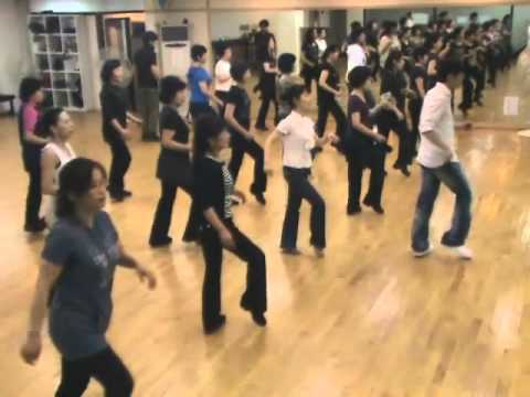Let's Do It, Let's Do It Together - Line Dance (Demo & Walk Through)