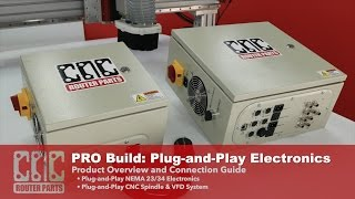 getlinkyoutube.com-PRO CNC Build Series: Plug-and-Play CNC Electronics and Spindle for your CNC Router Parts Machine