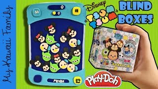 getlinkyoutube.com-Disney Tsum Tsum Game Play-Doh Surprise! Japanese Blind Box Tsum Tsums! Roly Polies!