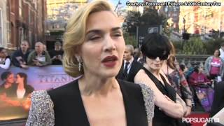 Kate Winslet on Her Titanic Nude Scenes in 3D: