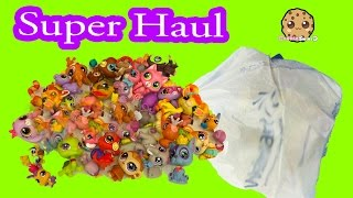 LPS Mega Super Big Haul Littlest Pet Shop Bobblehead Unboxing Video - Cookieswirlc