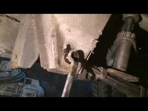 Замена втулки рессор.ИЖ-2717
