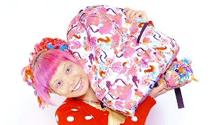 What's in my bag? with Japanese decora model Haruka Kurebayashi|カバンの中身紹介 by モデル,デザイナー,アーティスト紅林大空