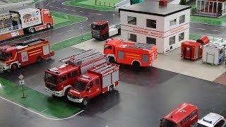 getlinkyoutube.com-RC Feuerwehr - Der Hausbrand