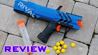 [REVIEW] Nerf Rival Apollo Unboxing, Review, & Firing Test