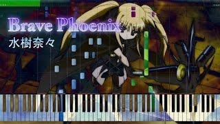 getlinkyoutube.com-Brave Phoenix - 水樹奈々 - Piano Arrangement