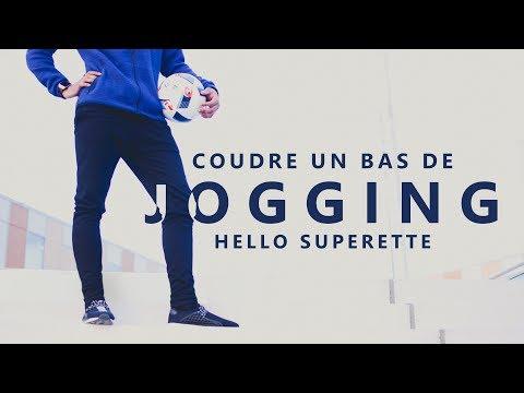 COUDRE UN PANTALON de JOGGING - TUTO COUTURE SIMPLE & SANS PATRON