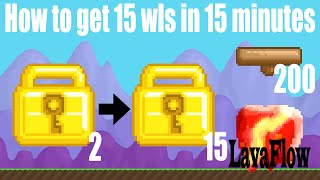 getlinkyoutube.com-Growtopia - How to get 15 wls in 15 minutes [Easy Fast Wls in Growtopia]