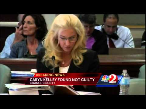 Caryn Kelley found not guilty in boyfriend's death