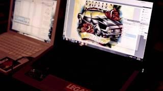 Corey davis travail sur le cover de stalley
