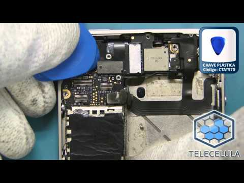 Tutorial de Desmontagem Apple iPhone 4S - TELECELULA