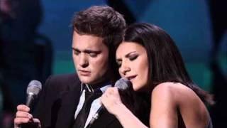 getlinkyoutube.com-Michael Buble feat. Laura Pausini - You will never Find - Caught in the Act