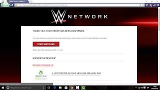 getlinkyoutube.com-Como crear una cuenta de WWE network gratis por un mes - 2017 (Actualizado Enero)