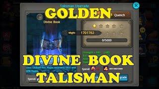 Taichi Panda | Golden Divine Book Talisman