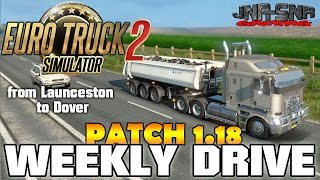getlinkyoutube.com-ETS 2 PATCH 1.18 | Australia Map Kenworth K200 | WEEKLY DRIVE