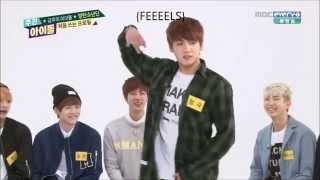 140430 Bangtan Boys (BTS) - Girl Group Dances [Weekly Idol]