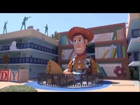 Disney's All Star Movie Resort 2013 Tour and Overview Walt Disney World HD 1080p