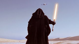 getlinkyoutube.com-Darth Maul vs Qui-Gon Jinn on Tatooine HD720p