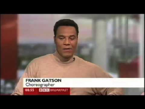 FRANK GATSON on BBC Breakfast