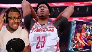 getlinkyoutube.com-NBA 2K16 MyTEAM - INSANE DIAMOND ANTHONY DAVIS DEBUT! MY NEW FAVORITE CARD!!!