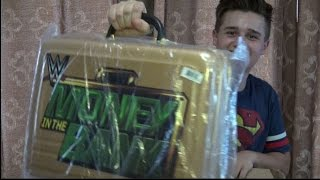 WWE MONEY IN THE BANK Briefcase UNBOXING!