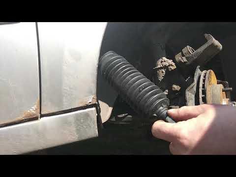 Chery Fora A21 чери фора а 21 замена правой рулевой тяги вместе с наконечником
