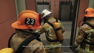 getlinkyoutube.com-Grand Theft Auto V - The Bureau Raid - Fire Crew