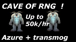 WoW 6.2.3: 1,000g - 50,000g Per Hour ( Azure + Transmog ) Looted Item Value - Gold Guides