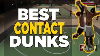 getlinkyoutube.com-Nba 2k16 - Best Contact Dunk Animations