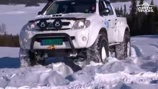 getlinkyoutube.com-Arctic Trucks vintertreff Golsfjellet 2014