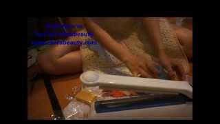 getlinkyoutube.com-วิธีห่อสบู่เพื่อสร้างแบรนด์สบู่ จากร้าน chivabeauty