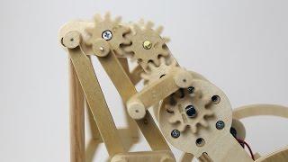 Wooden Walking Robot