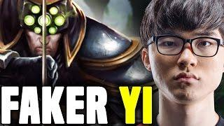 FAKER Crazy Picks MASTER YI MIDLANE AGAIN! - SKT T1 Faker SoloQ Challenger Korea   SKT T1 Replays