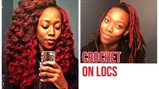 getlinkyoutube.com-Crochet on locs!