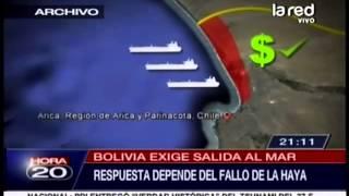 Bolivia exige salida al mar. Chile ofrece enclave costero