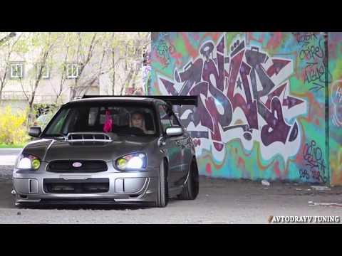 Обзор  Красивая обладательница « Subaru WRX »
