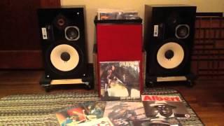 Sansui AU 9900 Integrated Amplifier, Jbl L100 Speakers Pioneer Turntable