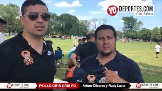Pollo Cris Cris FC equipos de futbol en Chicago Arturo Olivares y Rudy Luna