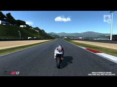 Moto GP 13 Gameplay